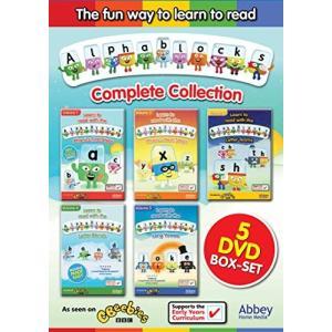 Alphablocks: Box Set [DVD]|omatsurilife
