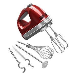 (中古品) KitchenAid (キッチンエイド) 9段階スピードハンドミキサー Apple Re...