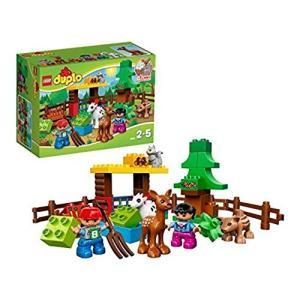 (中古品) レゴ (LEGO) デュプロ の森 もりのどうぶつたち 10582  【メーカー名】 レ...