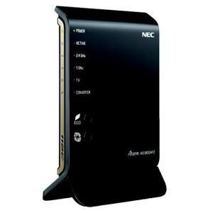 (中古品) NEC WiFi 無線LAN ルーター 親機 11ac/n/a/g/b 1300+450...
