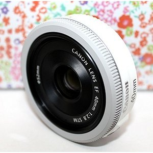 Canon 単焦点レンズ EF40mm F2.8 STM フルサイズ対応-White- Bulk P...