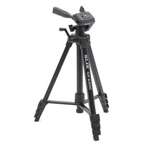 (中古品) SLIK 三脚 GX 6400 4段 レバーロック 21mmパイプ径 3ウェイ雲台 クイ...