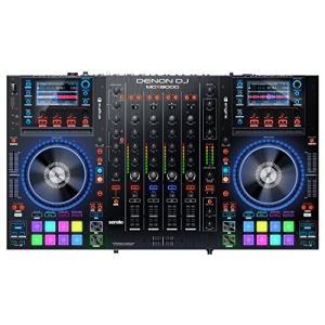 (中古品) Denon DJ USBメディア対応 スタンドアローン4デッキDJコントローラー Ser...