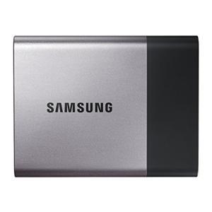 Samsung 外付けSSD 500GB T3シリーズ USB3.1対応 ハードウェア暗号化 パス
