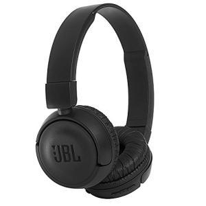 (中古品) JBL T450BT Bluetoothヘッドホン 密閉型/オンイヤー/折りたたみ ブラ...