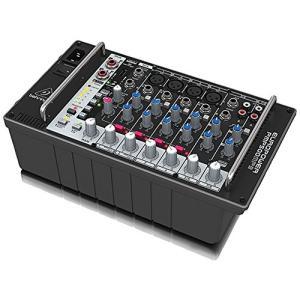ベリンガー パワードミキサー 500ワット 8ch リバーブ MP3プレイヤー PMP50