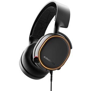 国内正規品 密閉型 ゲーミングヘッドセット SteelSeries Arctis 5 Black