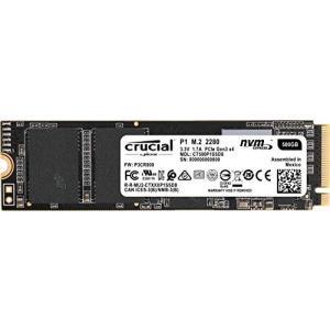 (中古品) 重要なP1 500GB 3D NAND NVMe PCIe M.2 SSD - CT50...