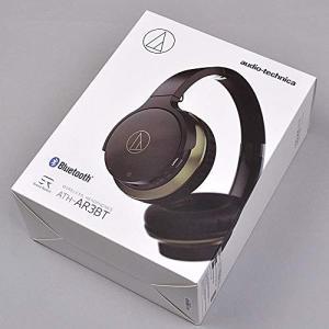 (中古品) audio-technica ATH-AR3BT BK ワイヤレスヘッドホン オーディオ...