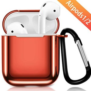 AirPods 2 ケース Apple AirPods 第2/1世代に適用 カバー Apple Ai...