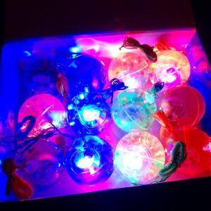 光るリターンウォーターボール 12個入(光るおもちゃ 光り物玩具 光りもの 光る 縁日 お祭り 夏祭り 景品 おもちゃ)