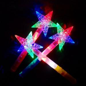 【光るおもちゃ/光り物玩具】光るクリスタルスタースティック【ご注文単位は必ず6個単位でお願いします】光るおもちゃ 光り物玩具 縁日 お祭り