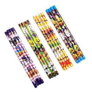 ハロウィン鉛筆4P 25個入(ハロウィン かぼちゃ カボチャ おもちゃ 子供会 幼稚園 保育園 子供...