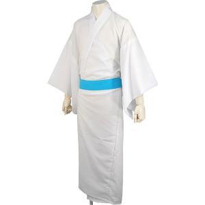 長襦袢(男性用) 白/無双仕立 手付け半衿付き