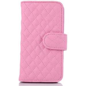 iphone5 iphone5s iPhoneSE 手帳型 ふわふわ ケース 【全4色】 / 耐衝撃 の かわいい 手帳 型 アイフォン カバー (ピーチピンク)|omededooo