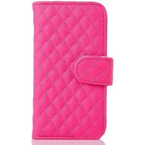 iphone5 iphone5s iPhoneSE 手帳型 ふわふわ ケース 【全4色】 / 耐衝撃 の かわいい 手帳 型 アイフォン カバー (ローズピンク)|omededooo