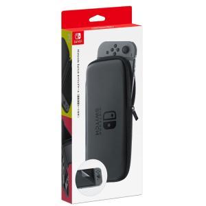 Nintendo Switchキャリングケース(画面保護シート付き)|omededooo