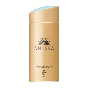 アネッサ パーフェクトUV スキンケアミルク L SPF50+/PA++++ 90mL 全肌質対応 日焼け止め用 乳液|omededooo