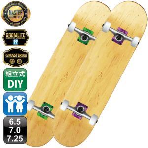 スケボー スケートボード OMG! マスター コンプリート 組立式 キッズ 100% カナディアン メイプル ブランク デッキ 6.5 7.0 7.25 7.5|omg-sb