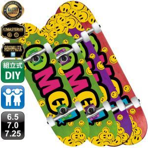 スケボー スケートボード OMG! コンプリート 組立式 キッズ用 100% カナディアン メイプル デッキ 6.5 7.0 7.25|omg-sb