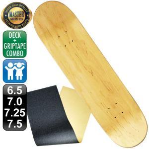 スケボー スケートボード デッキ デッキテープ マスター ブランク 6.5 7.0 7.25 7.5 ナチュラル 100% カナディアン メープル エポキシグルー 無地 omg-sb
