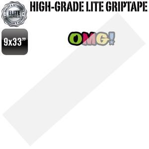 スケボー スケートボード デッキテープ 9x33インチ クリア 透明 グリップテープ スケボー スケートボード omg-sb