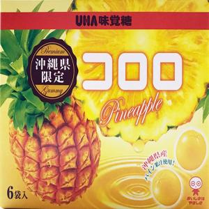 UHA味覚糖 コロロ パインアップル味 210g(35g×6袋) 沖縄限定  グミ  パイナップル ...