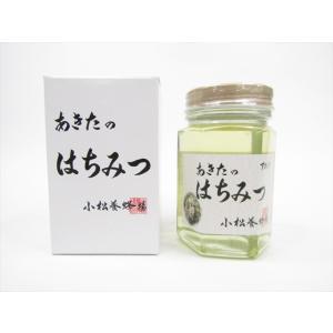 小松養蜂場 秋田県内で採取したアカシア蜂蜜 180g omiyageakita