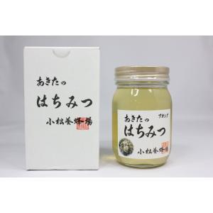 小松養蜂場 秋田県内で採取したアカシア蜂蜜 500g omiyageakita