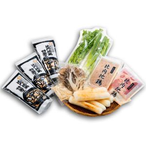 秋田味商 きりたんぽ鍋セット(野菜付) 3〜4人前 omiyageakita