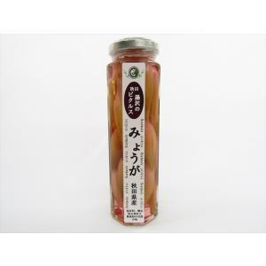 あお葉フーズ みょうがのピクルス omiyageakita