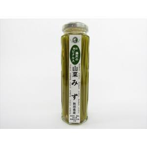 あお葉フーズ みずの茎のピクルス omiyageakita