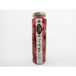 あお葉フーズ みょうがと長いもの梅しぞ風味ピクルス omiyageakita