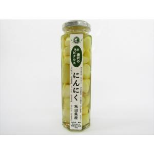 あお葉フーズ にんにくのピクルス omiyageakita