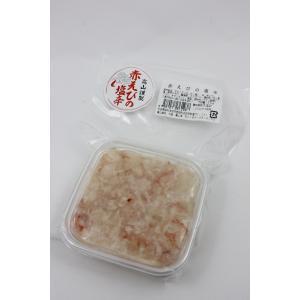 ユリフーズ 赤えびの塩辛|omiyageakita