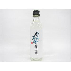 秋田 #由利本荘 齋彌酒造 雪の茅舎 純米吟醸 300ml
