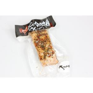 秋田食肉流通公社 比内地鶏ペッパー燻製 omiyageakita