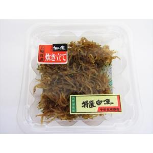 千田佐市商店 特選白魚佃煮 パック|omiyageakita