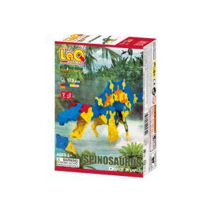 LaQ ラキュー ダイナソーワールド スピノサウルス 175ピース 知育玩具 パズルブロック 日本製