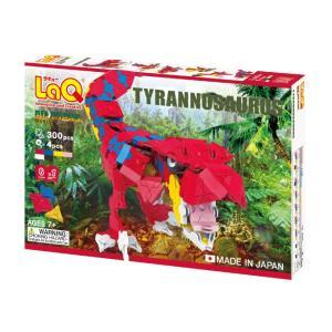 LaQ ラキュー ダイナソーワールド ティラノサウルス 300ピース+SPパーツ4ピース 知育玩具 ...
