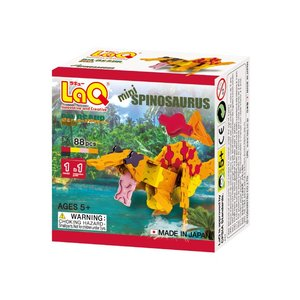 LaQ ラキュー ダイナソーワールドミニ ミニスピノサウルス 88ピース 知育玩具 パズルブロック ...