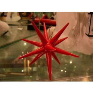 木のおもちゃ ドイツ 木製 知育玩具 赤い星・立体・小(ニキティキ)