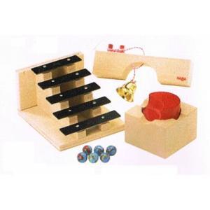木のおもちゃ ドイツ 木製 知育玩具 組み立てクーゲルバーン・ターン&サウンドセット 玉の塔 送料無...