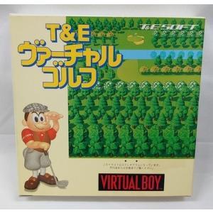 任天堂バーチャルボーイ用ソフト「T&E バーチャルゴルフ」レトロゲーム