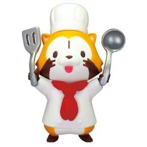 タカラトミーアーツ あらいぐまラスカル ちょこともレストラン 01.コックさんなラスカル