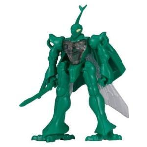 バンダイ ガシャプラ 聖戦士ダンバイン 02.ダンバイン(トカマク機)緑|omochayaya