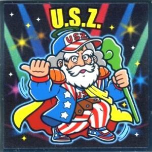 ロッテ ぼくらのビックリマン スーパーゼウス編 NO.19 U.S.Z omochayaya