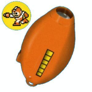 システムサービス ロックマン ロックバスターライトキーチェーン 02.スパークショック(橙)スパークマン|omochayaya