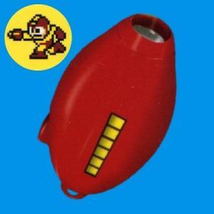 システムサービス ロックマン ロックバスターライトキーチェーン 04.ファイヤーストーム(赤)ファイヤーマン|omochayaya