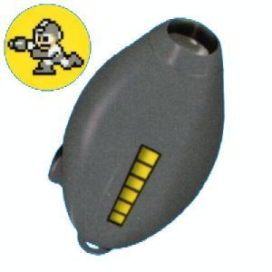 システムサービス ロックマン ロックバスターライトキーチェーン 05.ダストクラッシャー(灰)ダストマン|omochayaya